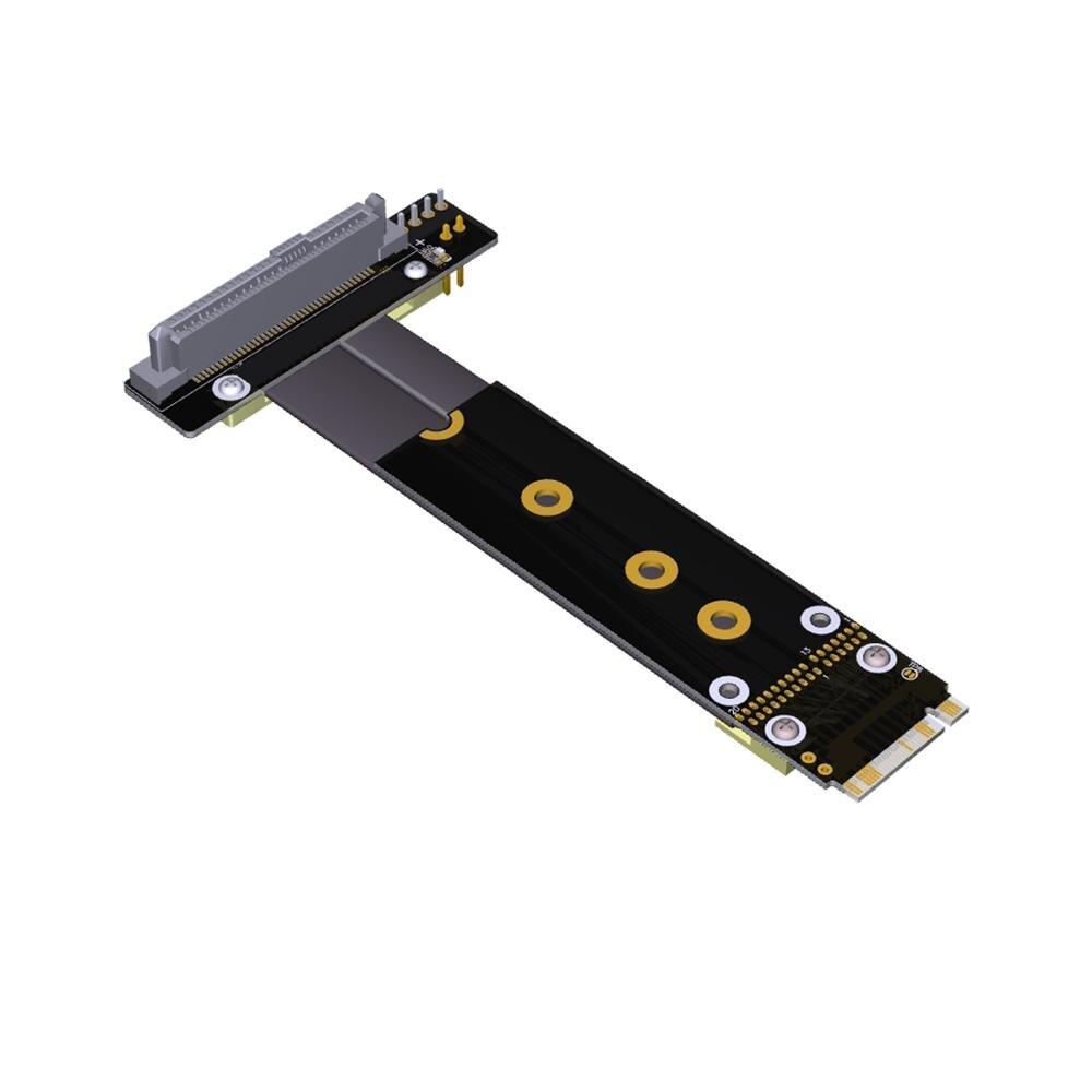 U2 SFF-8639 U.2 к M.2 удлинитель гибкий кабель NVMe M ключ-M M2 адаптер Riser Card ленточный удлинитель Кабель для U.2 NVME SSD