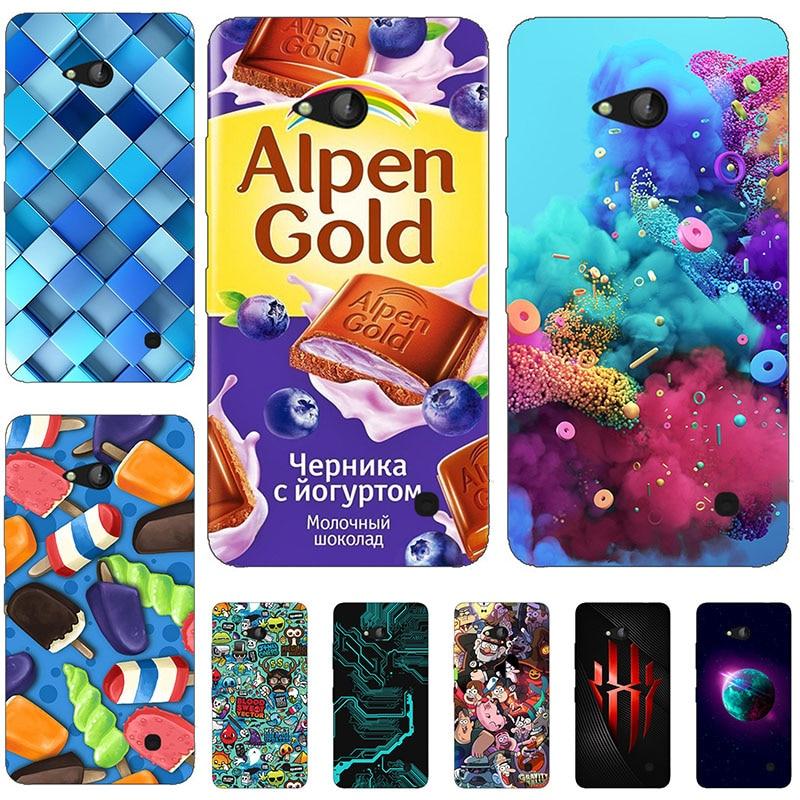 45 styles For Coque Microsoft Nokia Lumia 640 Case 3D Back Cover For Microsoft Lumia 640 Dual Sim / Lumia 640 LTE Phone Cases