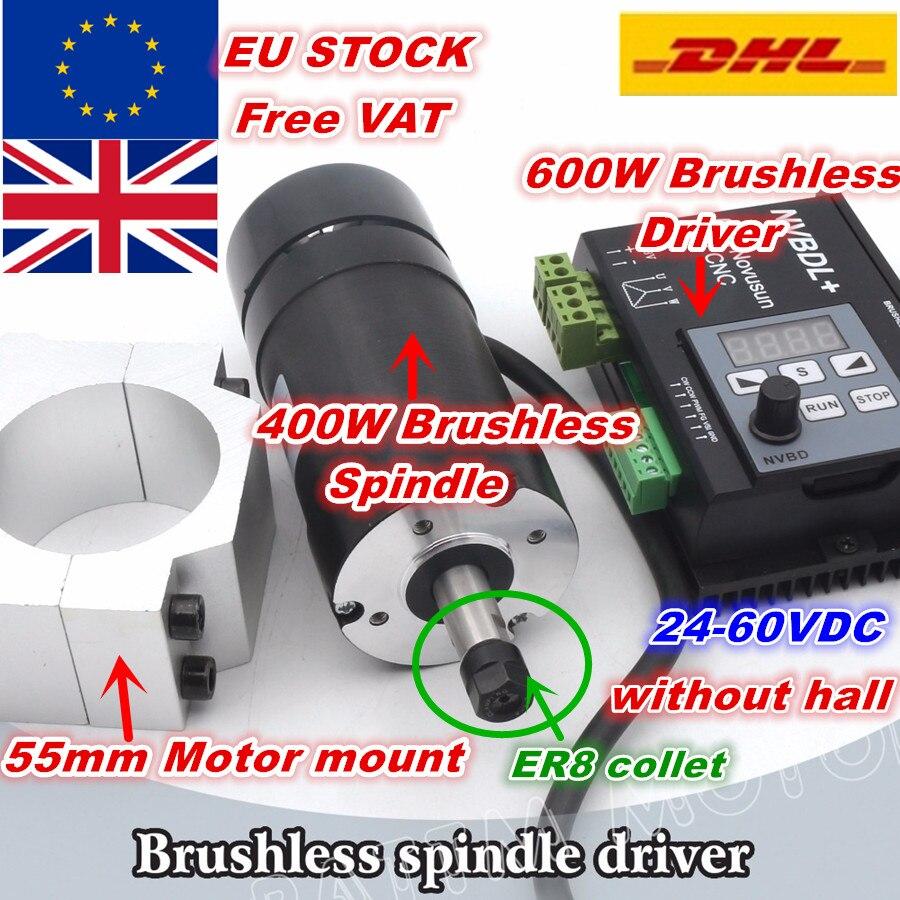 محرك بدون فرش NVBDL ، محرك بدون فرش ، 400 واط ، 48 فولت تيار مستمر ، ER8