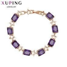 Xuping مجوهرات فاخرة سوار تصميم خاص جودة عالية مطلية بالذهب نمط ساحر S31 ، 1  S15-72328