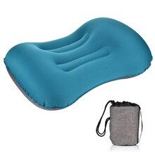Cou doux protecteur repose-tête oreiller Portable en plein air voyage Camping oreiller Compressible coussin gonflable