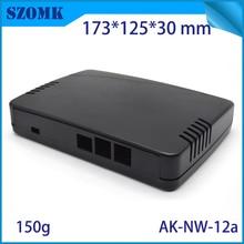 Boîtier de routeur wifi bricolage   Boîte de réseau en plastique, connecteur de boîte de jonction électrique en plastique 173*125*30mm, offre spéciale