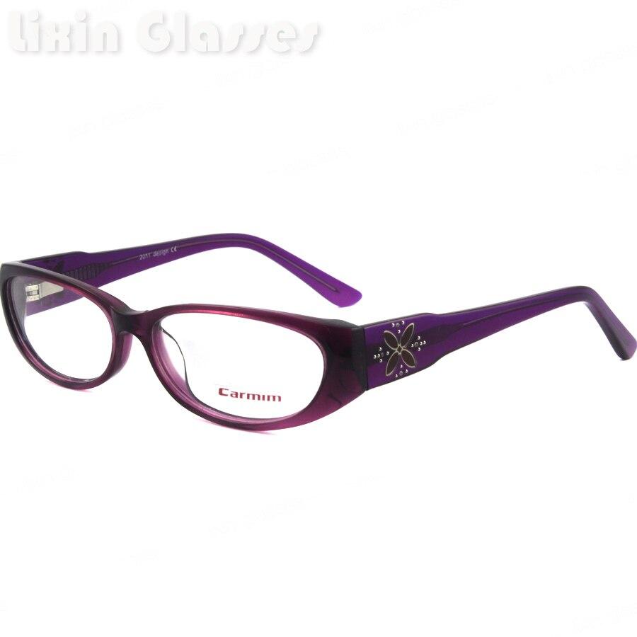 Last&New Design Style Light Purple Color Fashion Classic Female Eyewear Glasses Optical Eyeglasses Frame RA9212 C27