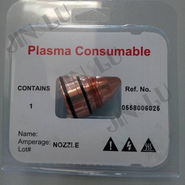 TM558006025-A nozzle 300A, плазменные расходные материалы PT36, справ. № 0558006025
