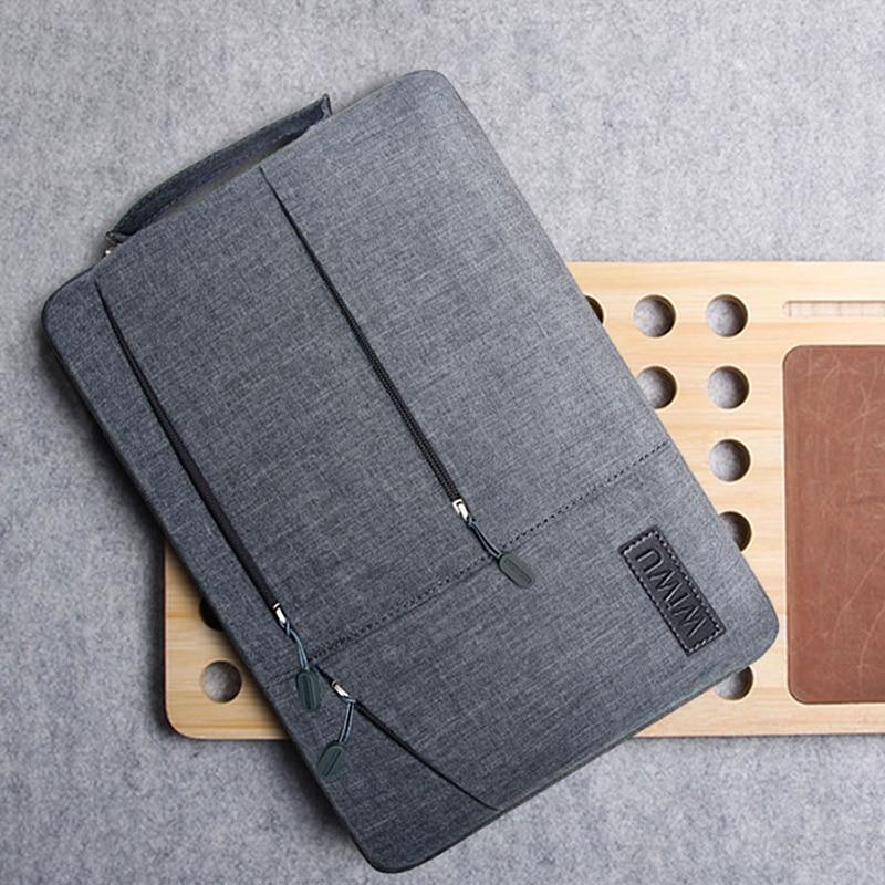 حقيبة كمبيوتر محمول مقاومة للصدمات والبوليستر ، حقيبة Asus 11.6 12 12.6 13.3 14 15.6 بوصة ، مقاومة للماء