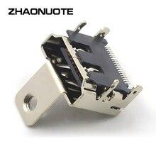 100 pcs Direct Current Power Plug HDMI Prise PINSMT Mono Fixe Prise Convexe Spot Rond Trou USB Connecteur