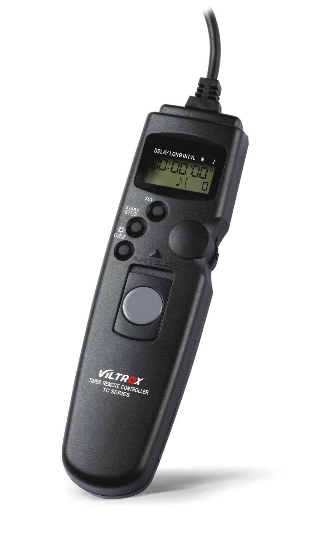 Кабель затвора Viltrox для камеры Canon 7D Mark II 6D 5D 5DII 5diii 1D 50D 40D 30D 20D с ЖК-таймером и дистанционным управлением