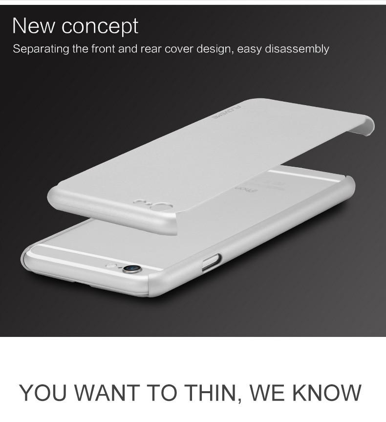 Floveme 6 s 7 plus armor screen protector 360 stopni case dla iphone 7 6 6 s dla iphone 6 6s 7 plus full chroń odporny na wstrząsy pokrywa 9