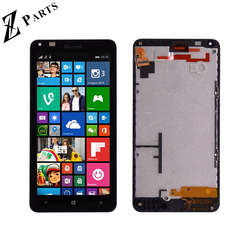 Original Für Microsoft Nokia Lumia 640 LCD Display mit Touch Screen Digitizer Montage mit rahmen Kostenloser Versand