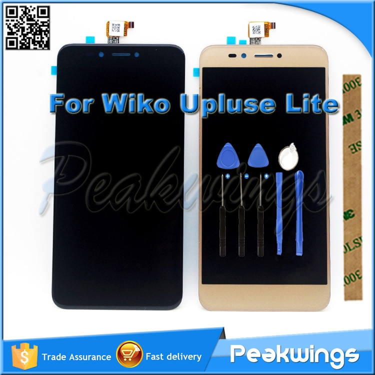 "5,2 ""1280*720 Sensor táctil para Wiko UPulse Lite pantalla LCD con montaje de pantalla táctil para Wiko U pulso Lite LCD"