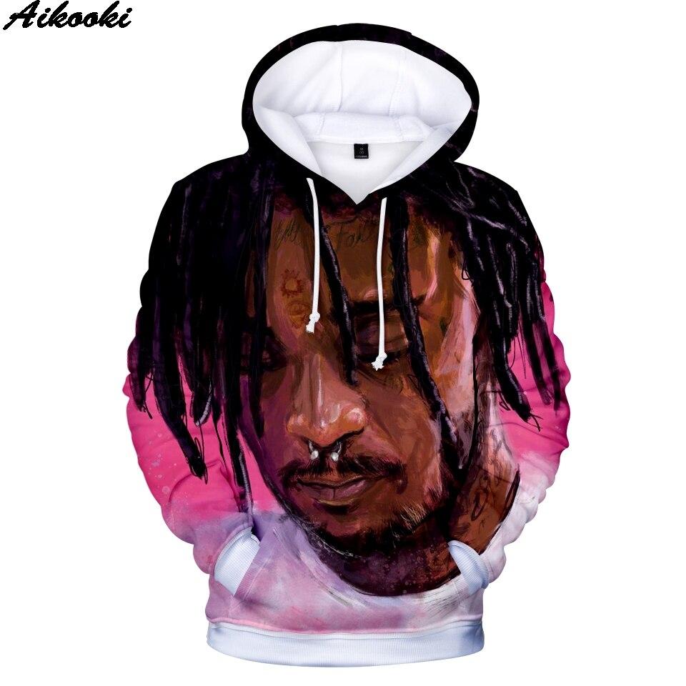 Sudadera con capucha para hombre y mujer sudadera Hip Hop Casual 3D LIL UZI VERT imprimir ropa superior