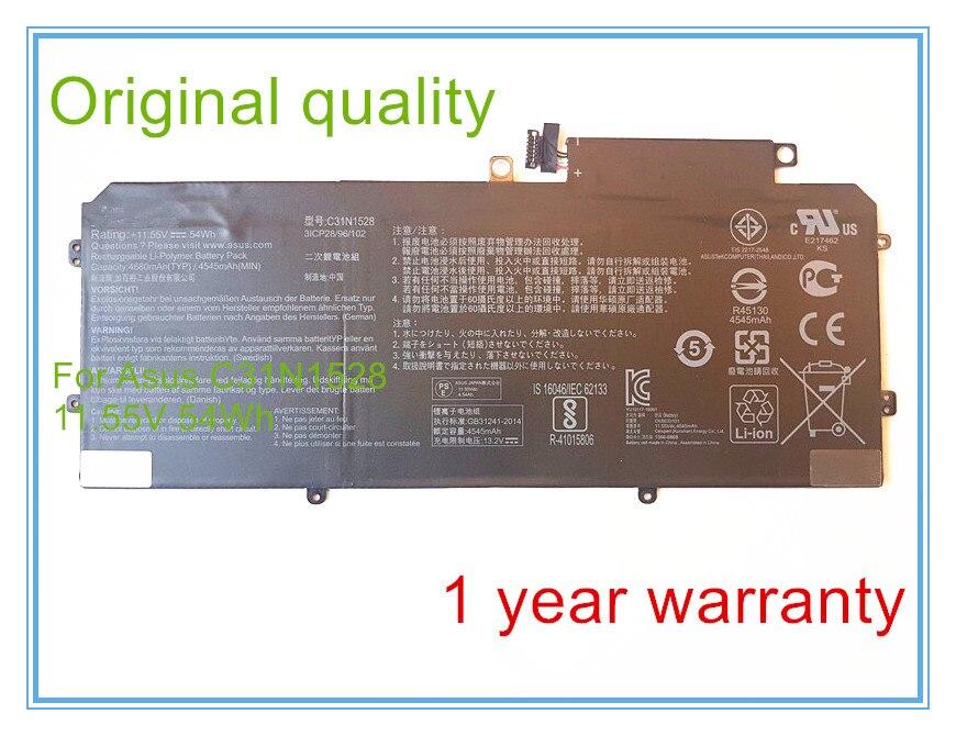 54Wh C31N1528 batería original para UX360 UX360CA UX360CA-C4008T C4028T C4041T FC060T UBM1T 0B200-00730200