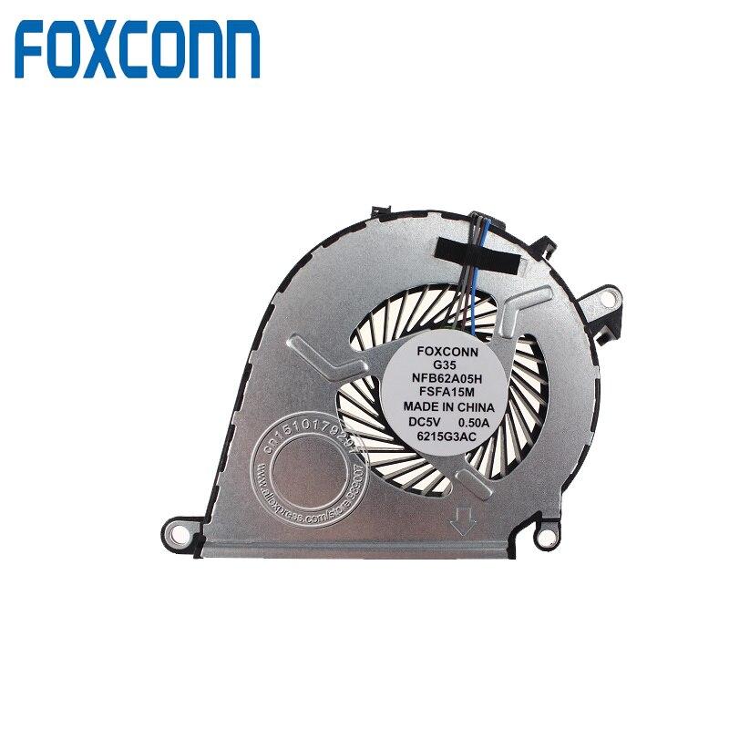 Neu für hp omen 15-ax020ca 15-ax039nr 15-ax252nr 15-ax253dx cpu fan 858970-001