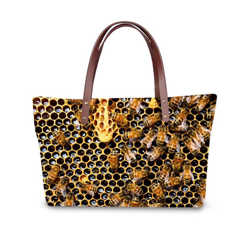 3D insect print ladies handbag women lovely note pattern handbags handbag+messenger bag+purse multifuction bags