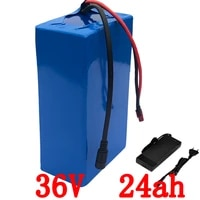 36v 1000w battery 36v 24ah electric bicycle battery 36v 24ah lithium battery use lg cell with 30a bms 42v 2a charger duty free