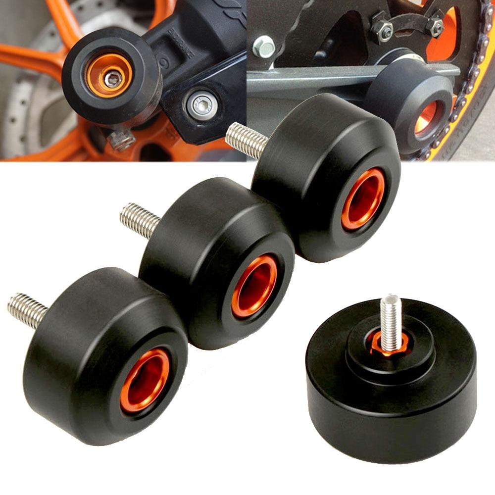 For KTM DUKE390 DUKE 390 2013-2016 2014 2015 2018 accessories motorbikes crash protect motorcycles crash pad wheel frame sliders