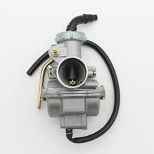 VODOOL-carburateur en métal PZ20 70cc 90cc 110cc 125cc ATV pièces de moto fournitures de carburant de moto 20mm
