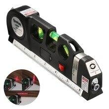Levier de niveau Laser polyvalent précis, vente chaude, projets croisés, ruban à mesurer à faisceau lumineux Laser Vertical Horizontal