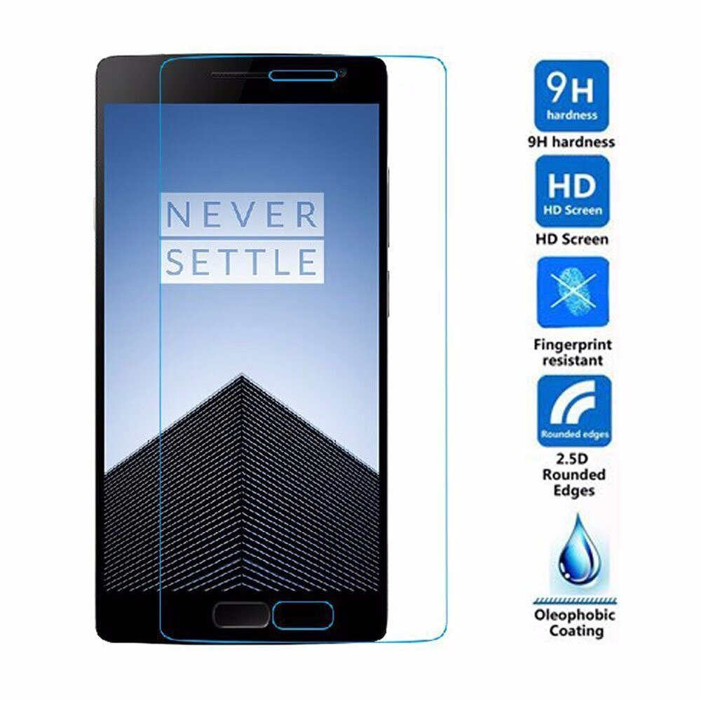 Original Tempered Glass Screen Protector guard GLASS film for oneplus two 2 for oneplus 1 one one plus one+safe package
