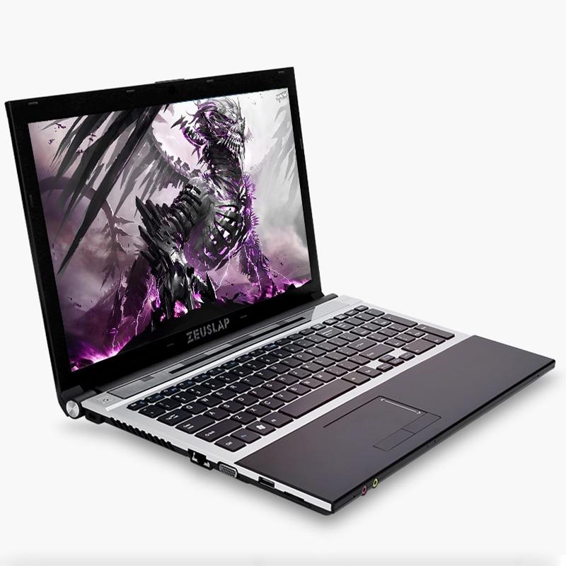 15,6 pulgadas Intel Core i7 CPU 8GB RAM + 120GB SSD + 500GB HDD 1920*1080P FHD WIFI Bluetooth DVD-ROM Windows 10 ordenador portátil