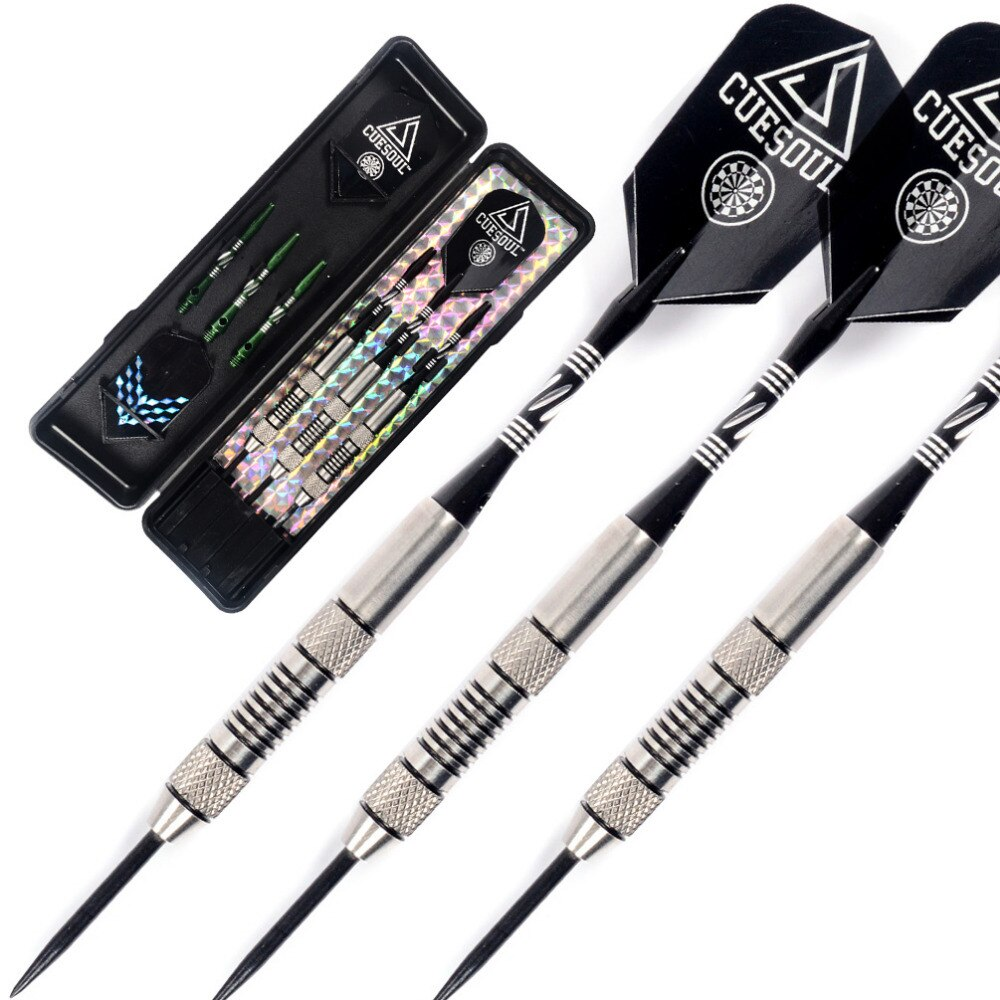Cuesoul 90%  Tungsten Steel Tip Darts- 24 Grams Dart  Barrels Free Shipping cuesoul 21g professional darts 90