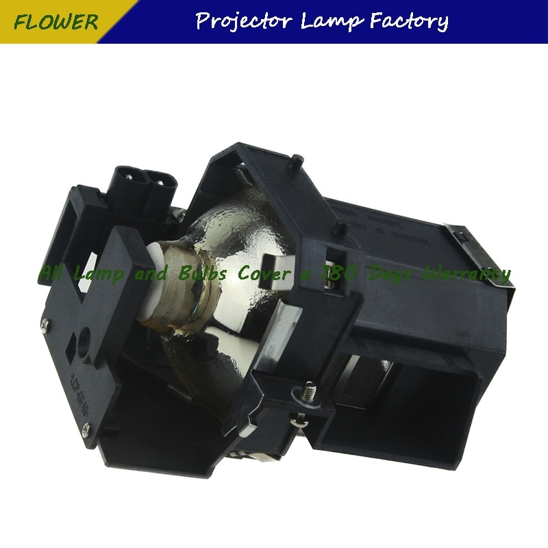 ELPL35 Projector Bare Lamp with housing For EPSON EMP-TW600 / EMP-TW620 / EMP-TW680 Projectors ec jbu00 001 replacement projector bare bulb with housing for acer x110p x1161p x1261p h110p x1161pa x1161n projectors