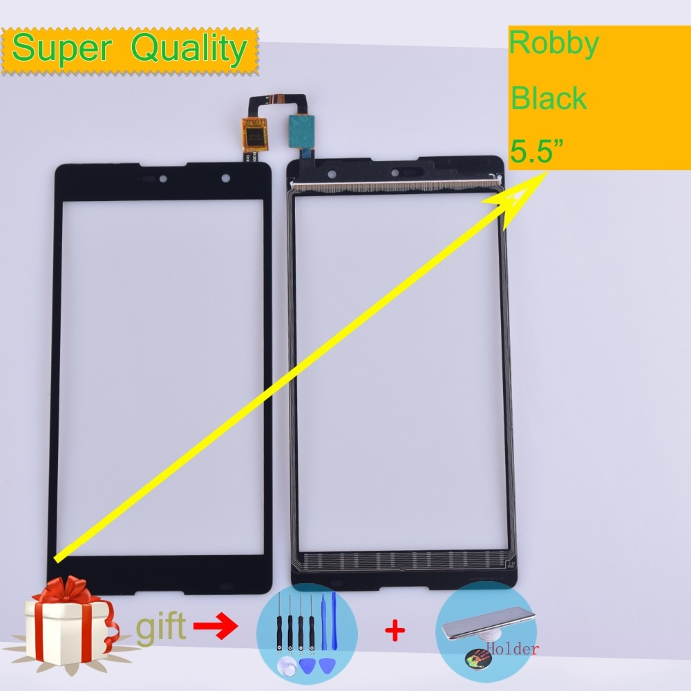 For Wiko Robby Touch Screen Panel Sensor Digitizer Front Outer Glass Touchscreen For Wiko Robby Touch Panel Replacement Black недорого
