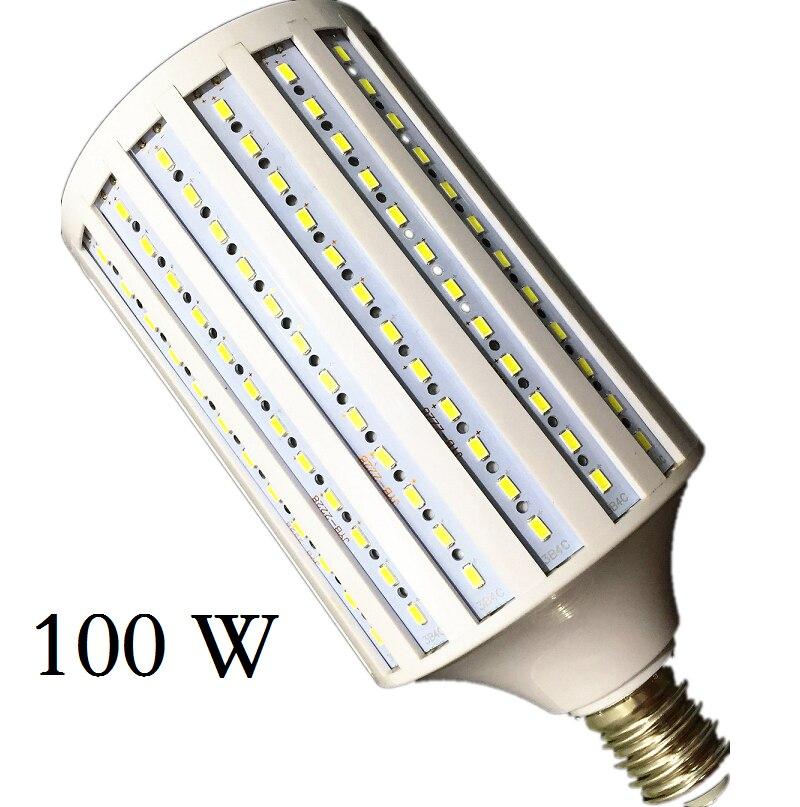 Lampada 40W 50W 60W 80W 100W lámpara de LED 5730 2835SMD E27 E40 E26 B22 110V 220V bombilla de maíz candelabro de iluminación colgante luz de techo