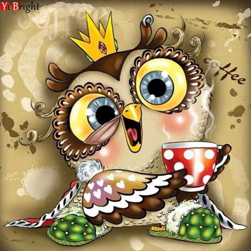 Décoration en mosaïque de strass pour enfant   Broderie en diamant, carré, peinture complète, dessin animé, bricolage à la main, cadeau s XY1