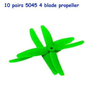 10 pairs FPV 4 blade propeller 5045 CW/CCW X50404 Props for kit 200-320