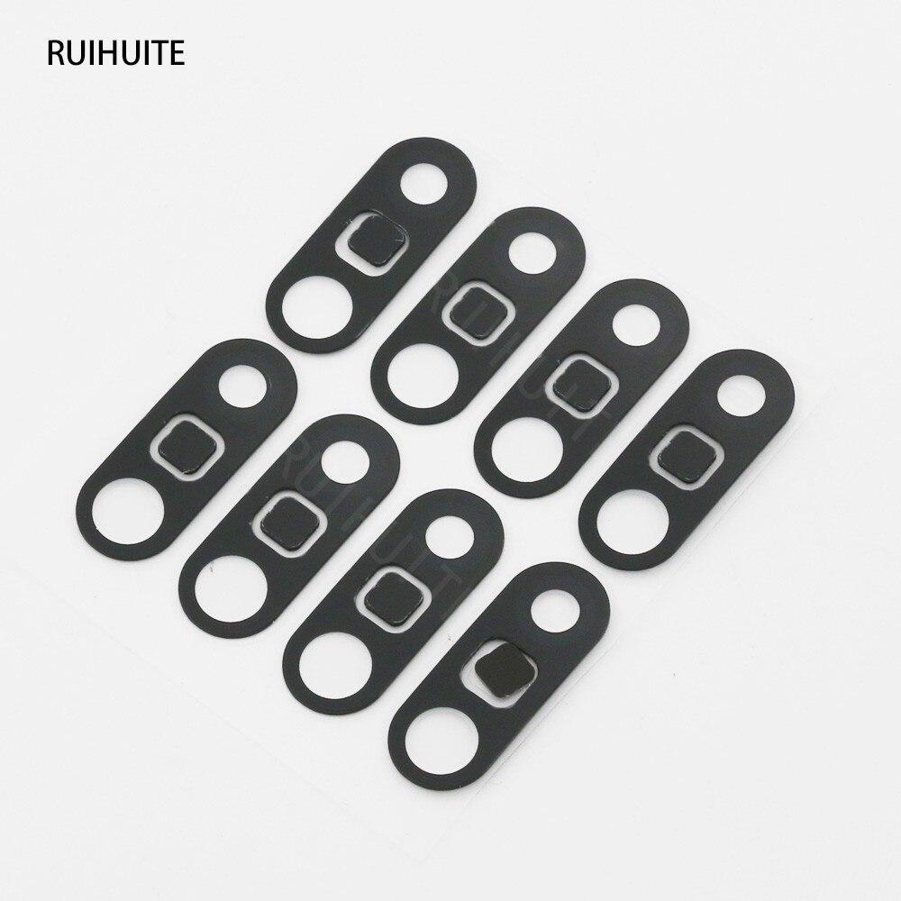 RUIHUITE 10 pcs/lot nouveau pour LG G5 arrière caméra verre lentille couverture avec autocollant adhésif pièces de rechange