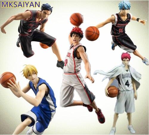 Kuroko-تمثال كرة سلة للأطفال ، أنيمي ، تايغا ، داكي ، يوتا ، تتسويا ، لعبة PVC ، دمية قابلة للتحصيل ، هدية للأطفال