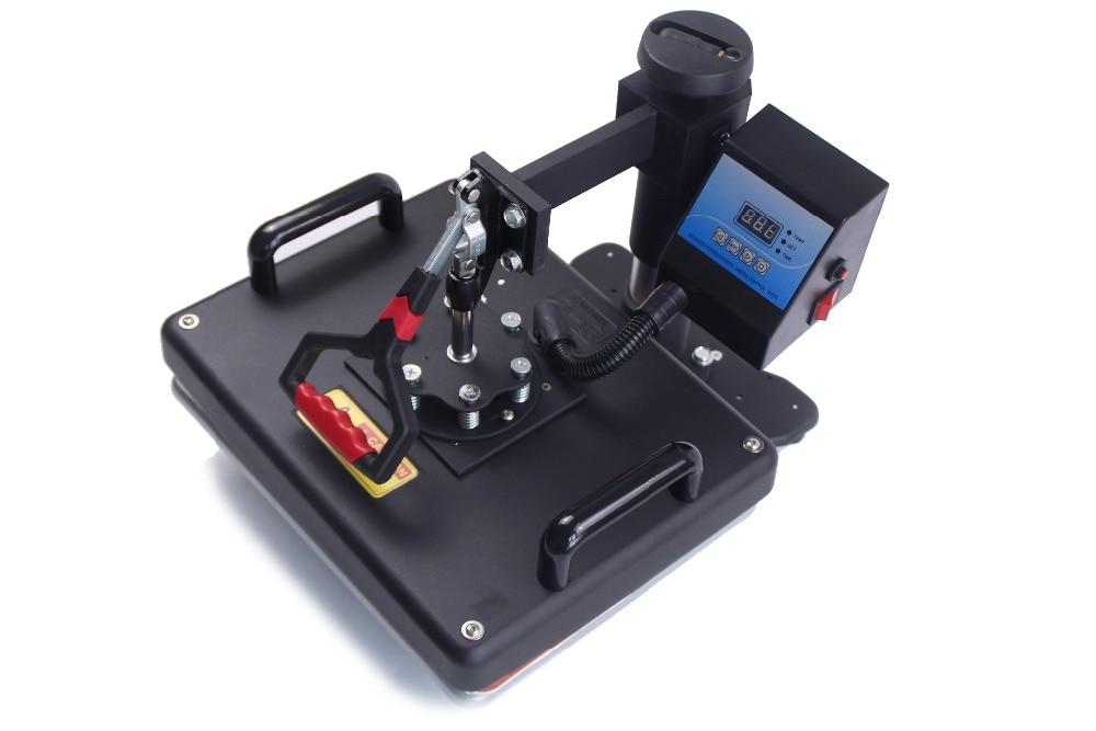 5 in 1 sublimation heat transfer machine for Mug Plate T-shirt Hat printing DX-035 Mug,Plate,T-shirt,Hat printing enlarge