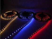 Wholesale 5M led strip 3528 led strip lights 60 LED Light Single RGB Color LED 3528 Strips Light Non-Waterprooof Free Shipping
