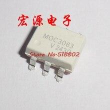 10pcs/lot MOC3063 3063 SOP-6 In Stock