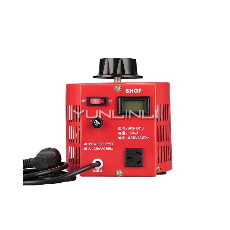 Regulador de frecuencia de contacto monofásico Converte 1000 W de entrada 220 v ajustable 0-300 V AC Boost Buck fuente de alimentación de bobina de cobre 1KVA