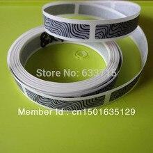 size 6 *22mm  USD 65/10000 pieces silver scratch off sticker label