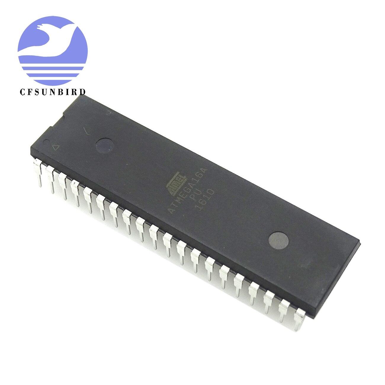 CFsunbird 1 pçs/lote ATMEGA16 ATMEGA16A-PU ATMEGA16A DIP-40
