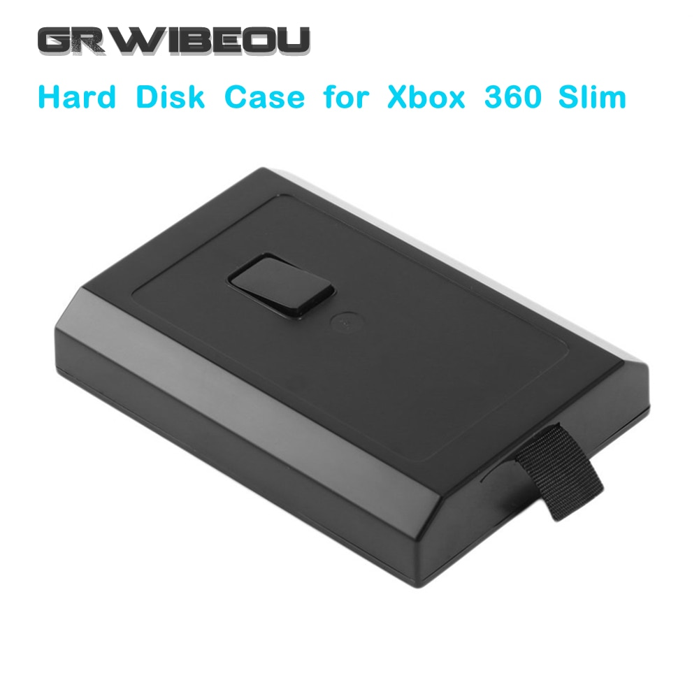 Nueva carcasa de disco duro XBOX360, caja de disco duro para XBOX 360, carcasa delgada, soporte para disco duro, soporte para Microsoft Xbox 360