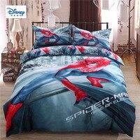 disney marvel new spider-man hot beddings 3d comforter single sets twin queen king size boy girl's gift duvet cover pillow cases