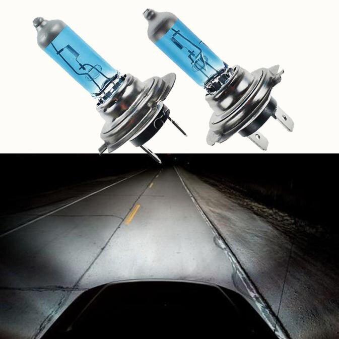CARPRIE лампы для автомобильных фар (светодиодный, новинка 2019, горячая распродажа, 2 шт, H7 6000 K, газовая фара, лампы накаливания белого света, 100 Вт, 12 В, 9620