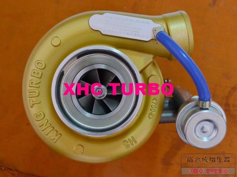 Nuevo turbocompresor auténtico KINGTURBO HX40W L3700-1118100-502 Furbo para camión Dongfeng YUCHAI Diesel YC6L 8.4L 350HP