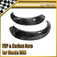 discount car styling for mx5 1989 1997 na miata carbon fiber rb style wide body rear fender flare r rb mudguard