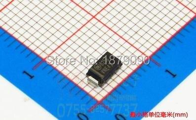 1SMA4729 1SMA4729A SML4729 SML4729A SMA/DO-214AC 1W 3,6 V 1N4729 1N4729A hacer 41 diodo Zener nuevo 100 unids/lote