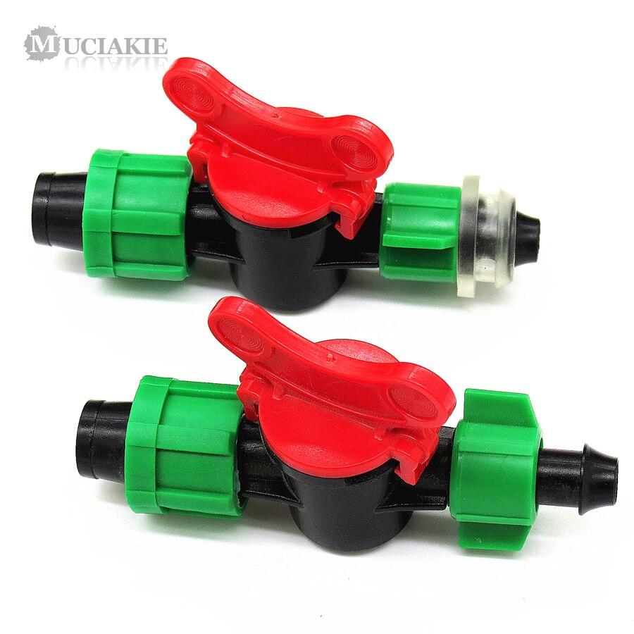 MUCIAKIE 5 шт. DN16 клапан переключатель двойной замок (для клапанного переключателя) для подключения орошения капельная лента PE ПВХ-труба колючая