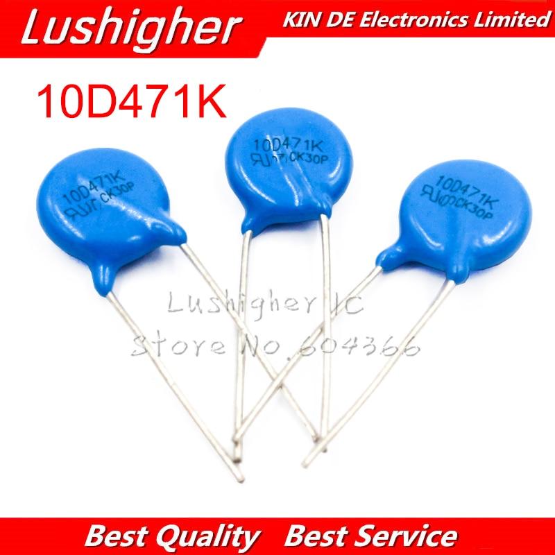10 шт. Варистор 10D471K 470V пьезорезистор 10D471