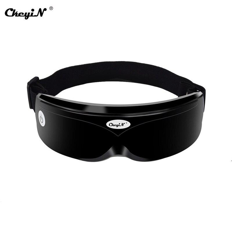 Wibracje elektryczne masażer do oczu oczy urządzenie do pielęgnacji zmarszczek zmęczenie łagodzi ciśnienie powietrza ogrzewanie masaż okulary oczy urządzenie do pielęgnacji 37