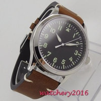 Corgeut Mechanical Watches Diver Minimalist Watch for Men Wristwatch Clock Auto Date Waterproof Automatic Relogio Masculino 2019