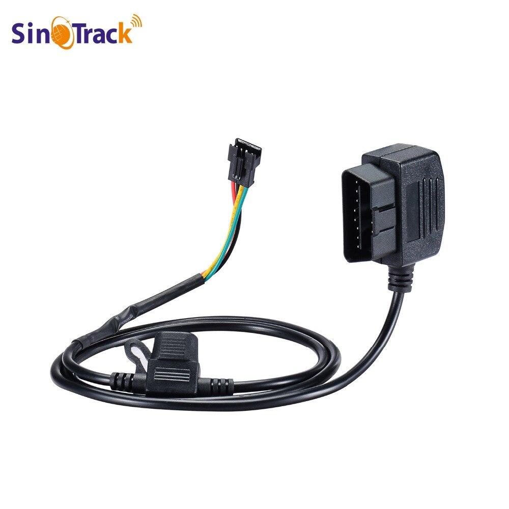 SinoTrack 12 V 16 Pin OBD OBD2 OBDII Netzteil Verlängerung Stecker Kabel für GPS tracker