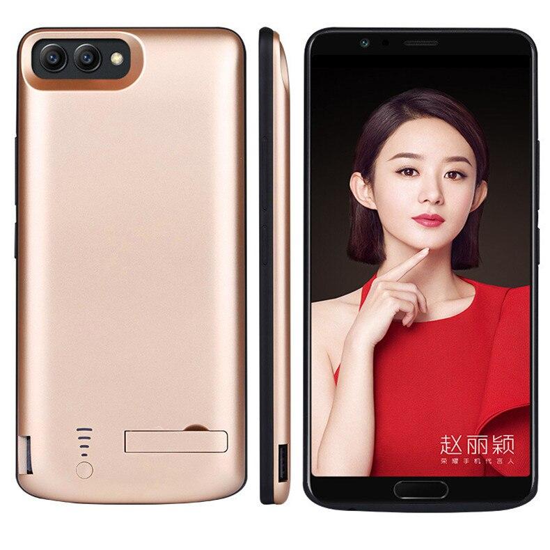 Funda de cargador de batería USB de 7500mAh para Huawei Honor V9, fundas para paquete de energía, funda trasera de carga de 6500mAh de reserva para Huawei Honor V10